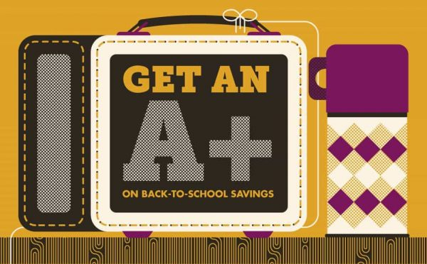 Get an A+ on Back-to-School Savings