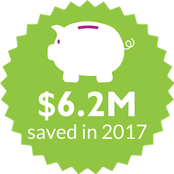 Updated Savings Amount Icon in 2017