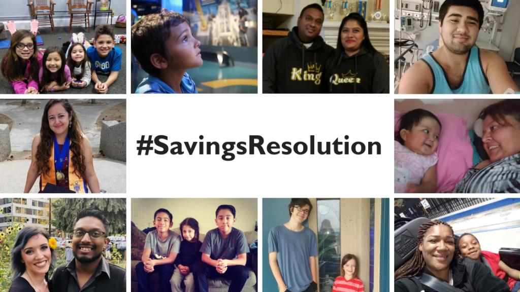 #SavingsResolution Entries Collage