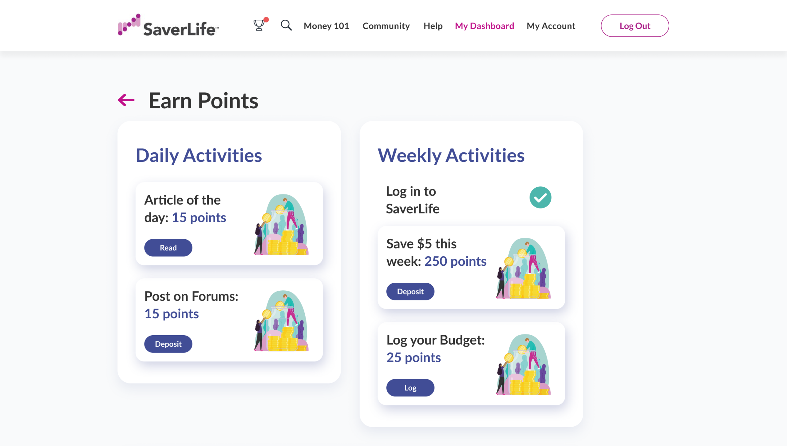 How You Ll Be Rewarded For Building Better Money Habits With Saverlife Saverlife