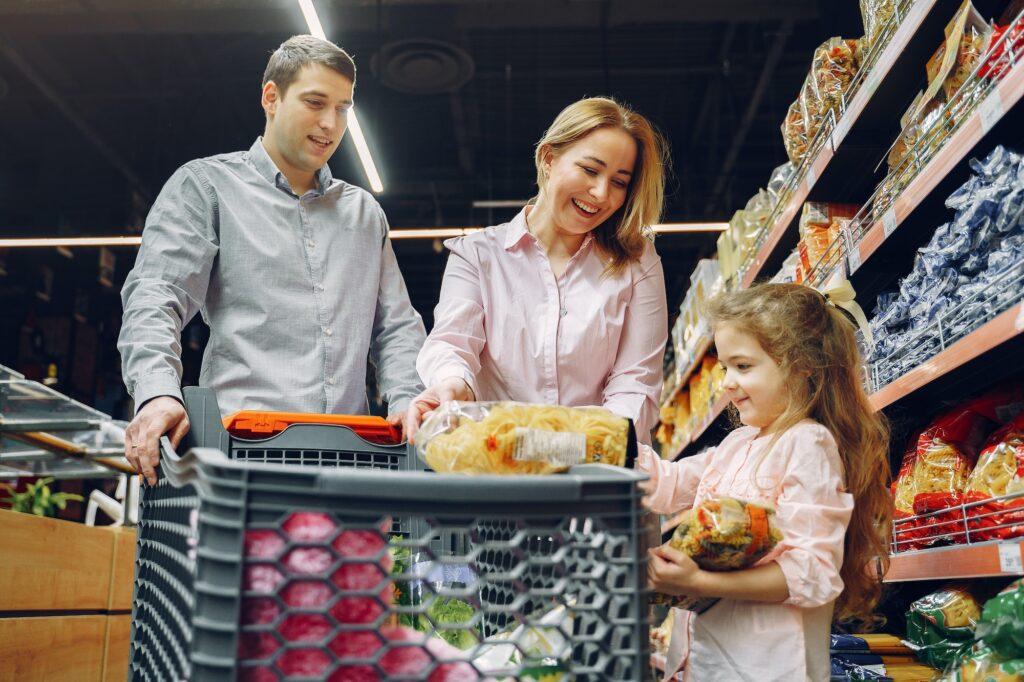 Family shopping small