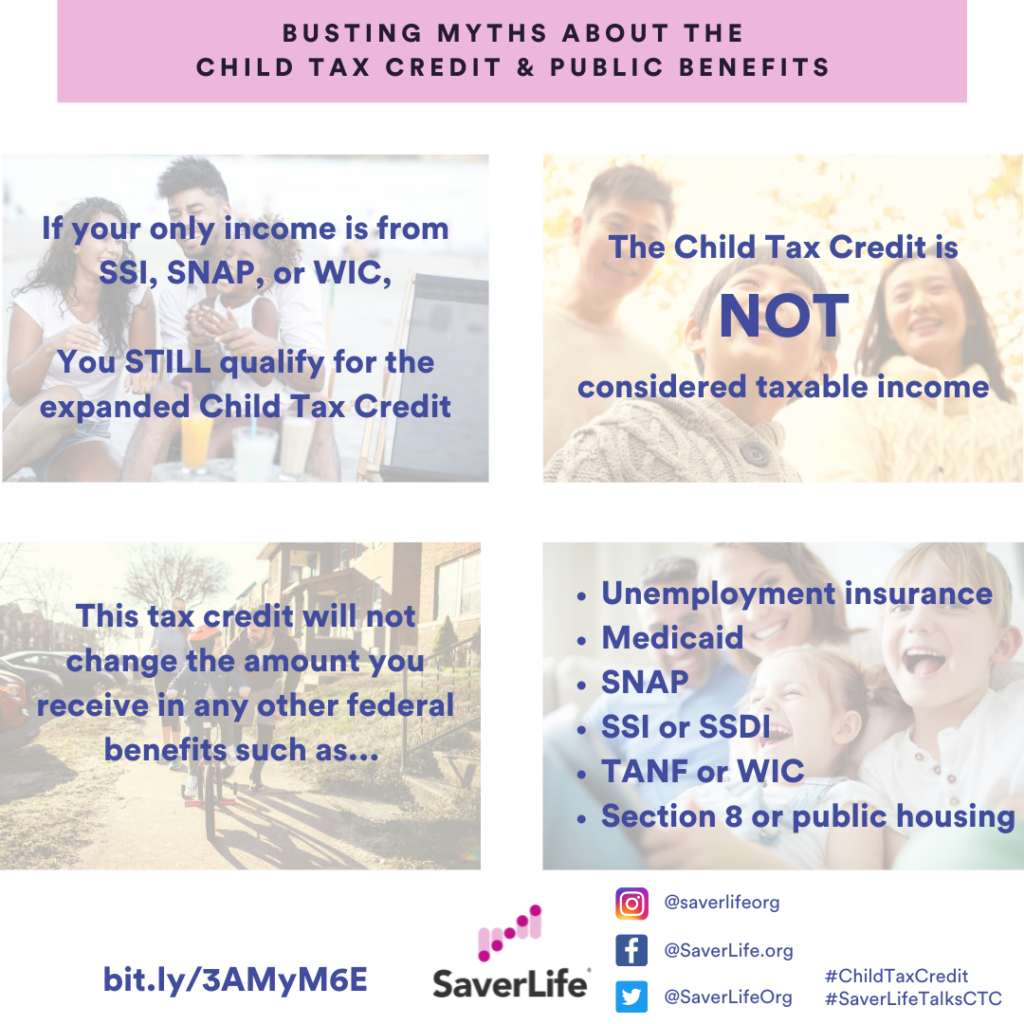 Busting Myths about the Child Tax Credit & Public Benefits